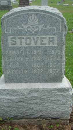 STOVER, LAURA E. - Licking County, Ohio | LAURA E. STOVER - Ohio Gravestone Photos