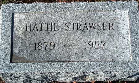 STRAWSER, HATTIE - Licking County, Ohio | HATTIE STRAWSER - Ohio Gravestone Photos