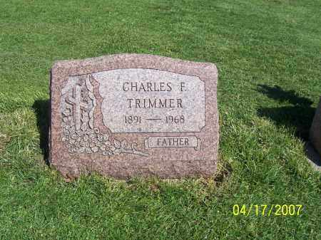 TRIMMER, CHARLES F - Licking County, Ohio | CHARLES F TRIMMER - Ohio Gravestone Photos