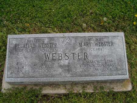 WEBSTER, MARY - Licking County, Ohio | MARY WEBSTER - Ohio Gravestone Photos