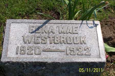 WESTBROOK, EDNA MAE - Licking County, Ohio | EDNA MAE WESTBROOK - Ohio Gravestone Photos