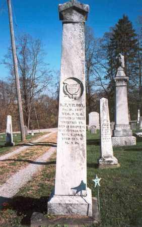 WILCOX, B.F. - Licking County, Ohio | B.F. WILCOX - Ohio Gravestone Photos
