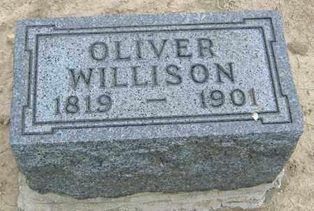 WILLISON, OLIVER - Licking County, Ohio | OLIVER WILLISON - Ohio Gravestone Photos