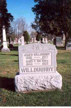 OLDAKER WILLOUGHBY, MARY FRANCES - Licking County, Ohio | MARY FRANCES OLDAKER WILLOUGHBY - Ohio Gravestone Photos