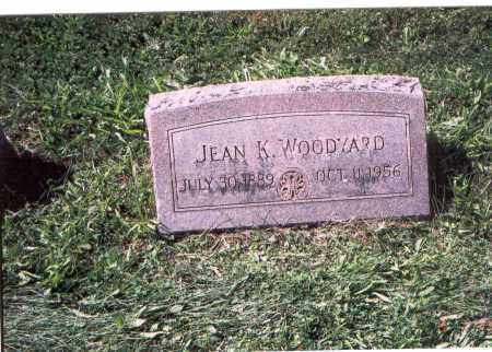 WOODYARD, JEAN K. - Licking County, Ohio | JEAN K. WOODYARD - Ohio Gravestone Photos