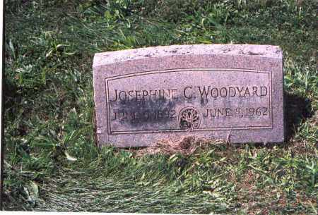 WOODYARD, JOSEPHINE - Licking County, Ohio | JOSEPHINE WOODYARD - Ohio Gravestone Photos