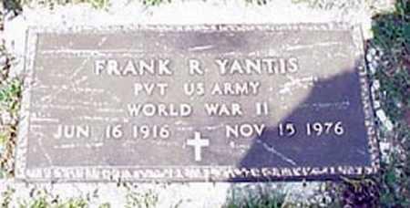 YANTIS, FRANK RUSSEL - Licking County, Ohio | FRANK RUSSEL YANTIS - Ohio Gravestone Photos