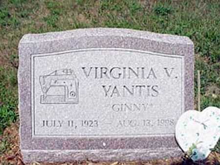 YANTIS, VIRGINIA VIOLET - Licking County, Ohio | VIRGINIA VIOLET YANTIS - Ohio Gravestone Photos