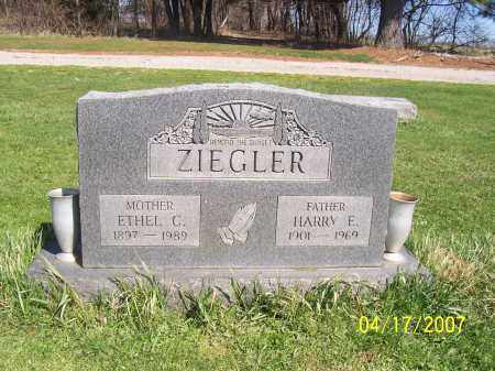 ZIEGLER, ETHEL C - Licking County, Ohio | ETHEL C ZIEGLER - Ohio Gravestone Photos