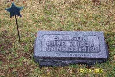 ALSON, S. - Logan County, Ohio | S. ALSON - Ohio Gravestone Photos