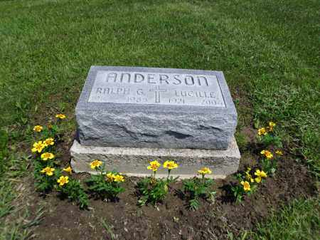 ANDERSON, OPAL LUCILLE - Logan County, Ohio | OPAL LUCILLE ANDERSON - Ohio Gravestone Photos