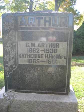 ARTHUR, C.W. - Logan County, Ohio | C.W. ARTHUR - Ohio Gravestone Photos
