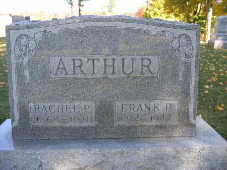 ARTHUR, FRANK P. - Logan County, Ohio | FRANK P. ARTHUR - Ohio Gravestone Photos