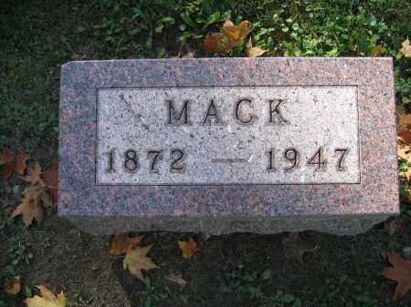 ASPINALL, MACK - Logan County, Ohio | MACK ASPINALL - Ohio Gravestone Photos