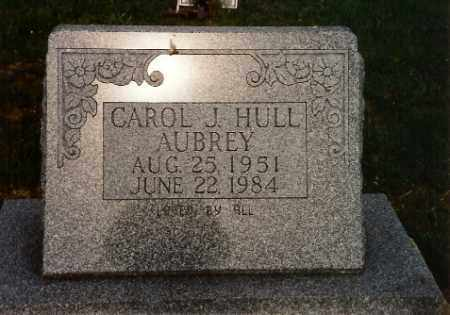 HULL AUBREY, CAROL JEAN - Logan County, Ohio | CAROL JEAN HULL AUBREY - Ohio Gravestone Photos