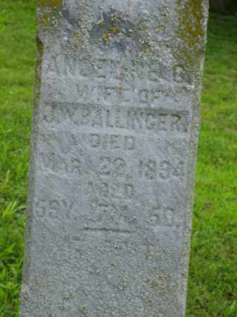 BALLINGER, ANGELINE - Logan County, Ohio | ANGELINE BALLINGER - Ohio Gravestone Photos