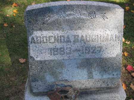 BAUGHMAN, ADOENDA - Logan County, Ohio | ADOENDA BAUGHMAN - Ohio Gravestone Photos