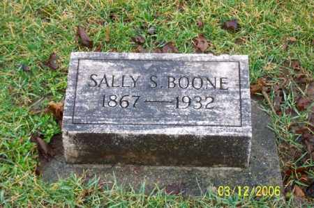 BOONE, SALLY S - Logan County, Ohio | SALLY S BOONE - Ohio Gravestone Photos