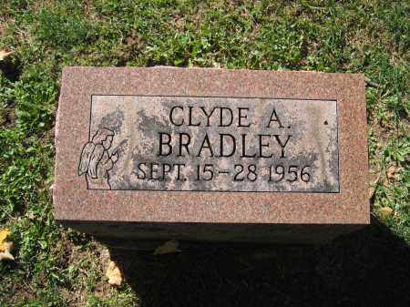 BRADLEY, CLYDE A. - Logan County, Ohio | CLYDE A. BRADLEY - Ohio Gravestone Photos