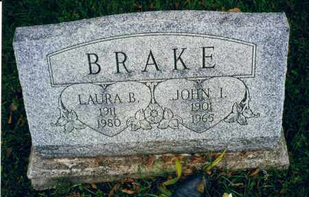 "BRAKE, JOHN ISAAC ""IKE"" - Logan County, Ohio 
