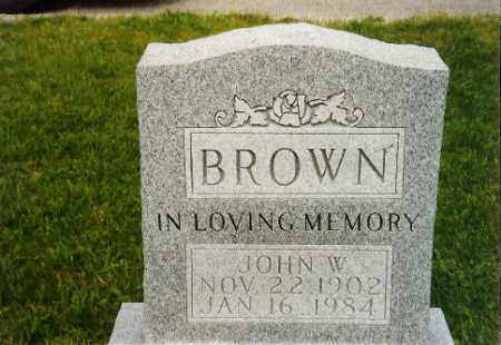 BROWN, JOHN - Logan County, Ohio | JOHN BROWN - Ohio Gravestone Photos