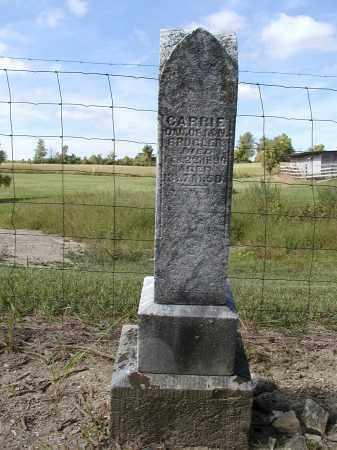 BRUGLER, CARRIE - Logan County, Ohio | CARRIE BRUGLER - Ohio Gravestone Photos