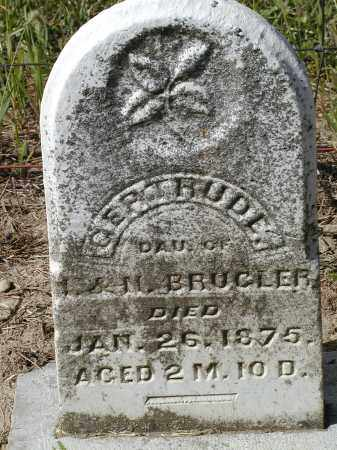 BRUGLER, GERTRUDE - Logan County, Ohio | GERTRUDE BRUGLER - Ohio Gravestone Photos
