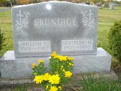 BRUNDIGE, WILLIAM - Logan County, Ohio | WILLIAM BRUNDIGE - Ohio Gravestone Photos