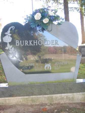 BURKHOLDER, JENNETH L. - Logan County, Ohio | JENNETH L. BURKHOLDER - Ohio Gravestone Photos