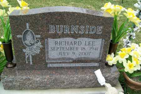BURNSIDE, RICHARD LEE - Logan County, Ohio | RICHARD LEE BURNSIDE - Ohio Gravestone Photos