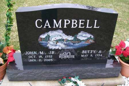 CAMPBELL, JOHN M - Logan County, Ohio | JOHN M CAMPBELL - Ohio Gravestone Photos
