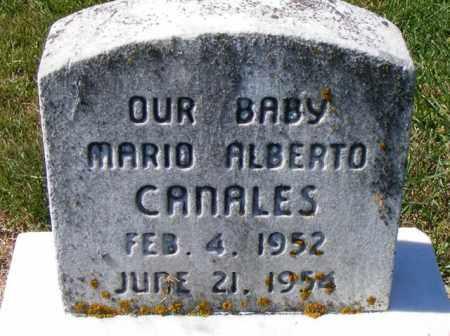 CANALES, MARIO ALBERTO - Logan County, Ohio | MARIO ALBERTO CANALES - Ohio Gravestone Photos