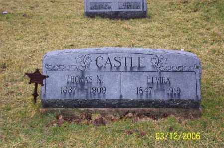 CASTLE, THOMAS N - Logan County, Ohio | THOMAS N CASTLE - Ohio Gravestone Photos