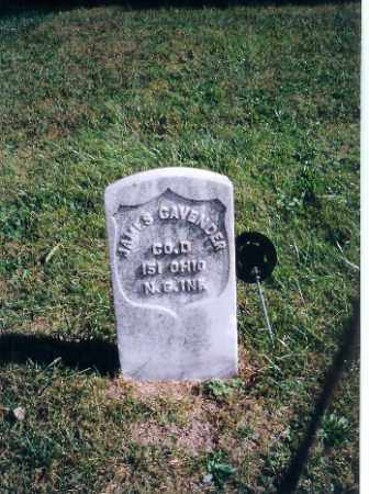 CAVENDER, JAMES - Logan County, Ohio | JAMES CAVENDER - Ohio Gravestone Photos