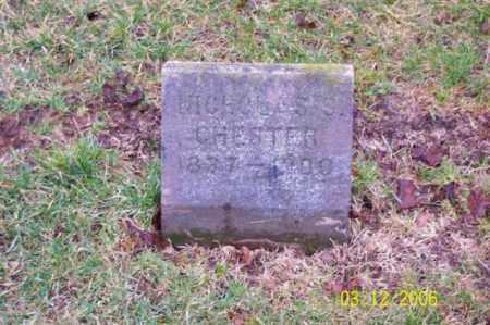 CHESTER, NICHOLAS S - Logan County, Ohio   NICHOLAS S CHESTER - Ohio Gravestone Photos