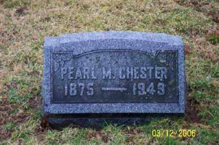 CHESTER, PEARL M - Logan County, Ohio | PEARL M CHESTER - Ohio Gravestone Photos