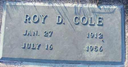 COLE, ROY D - Logan County, Ohio   ROY D COLE - Ohio Gravestone Photos
