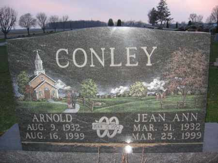 CONLEY, ARNOLD - Logan County, Ohio | ARNOLD CONLEY - Ohio Gravestone Photos