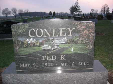 CONLEY, TED - Logan County, Ohio | TED CONLEY - Ohio Gravestone Photos