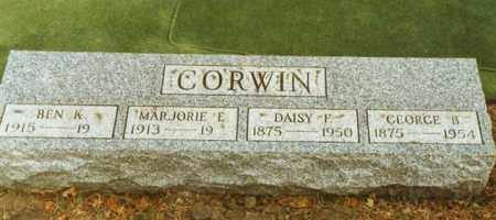 CORWIN, GEORGE BOWERS - Logan County, Ohio | GEORGE BOWERS CORWIN - Ohio Gravestone Photos