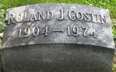 COSTIN, ROLAND - Logan County, Ohio | ROLAND COSTIN - Ohio Gravestone Photos