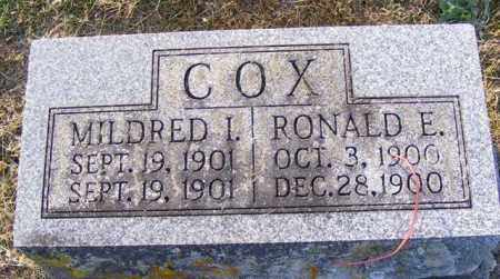 COX, RONALD - Logan County, Ohio | RONALD COX - Ohio Gravestone Photos