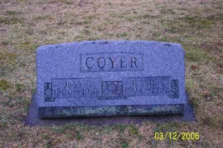 COYER, JESSIE - Logan County, Ohio | JESSIE COYER - Ohio Gravestone Photos