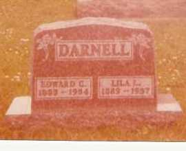 DARNELL, EDWARD CLINTON - Logan County, Ohio | EDWARD CLINTON DARNELL - Ohio Gravestone Photos