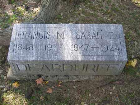 DEARDUFF, SARAH E. - Logan County, Ohio | SARAH E. DEARDUFF - Ohio Gravestone Photos