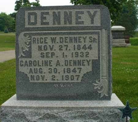 DENNEY, RICE - Logan County, Ohio | RICE DENNEY - Ohio Gravestone Photos