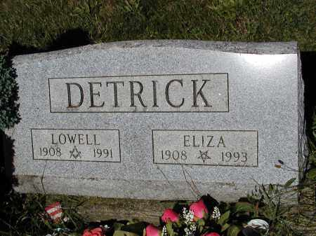 DETRICK, LOWELL - Logan County, Ohio | LOWELL DETRICK - Ohio Gravestone Photos