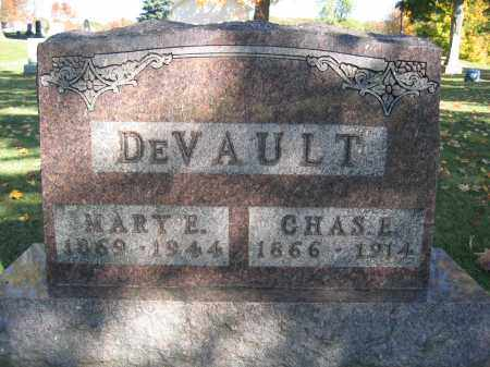 DEVAULT, MARY E. - Logan County, Ohio | MARY E. DEVAULT - Ohio Gravestone Photos