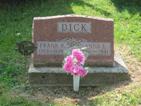 DICK, FRANK RILEY - Logan County, Ohio | FRANK RILEY DICK - Ohio Gravestone Photos