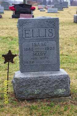 ELLIS, MARY - Logan County, Ohio | MARY ELLIS - Ohio Gravestone Photos